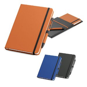 Kit de Caderno e Esferográfica Personalizado
