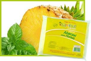 Polpa de Abacaxi com Hortelã - 5 unidades de 100 g.