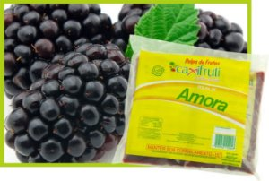 Polpa de Amora - 5 unidades de 100 g.