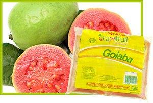 Polpa de Goiaba - 5 unidades de 100 g.