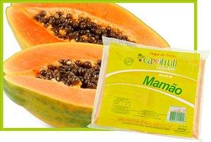 Polpa de Mamão - 5 unidades de 100 g.