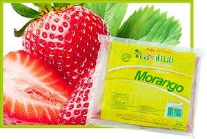 Polpa de Morango - 5 unidades de 100 g.