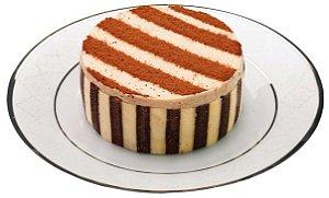 Torta Mousse Strogonoff de Nozes e Chocolate Congelada - 6 Unidades
