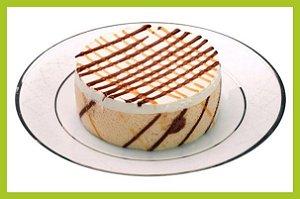 Torta de Banana Com doce de Leite - Banoffi - Congelada - 6 Unidades