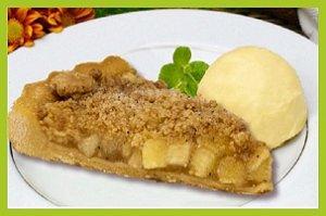 Torta de Maçã com Farofa Congelada - 6 Unidades