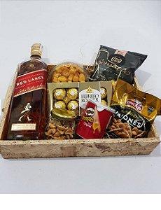 Cesta whisky Luxo