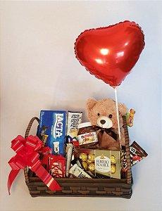 Cesta de Chocolate  Conquistando Amor