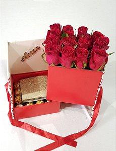 Caixa Amor Vermelho