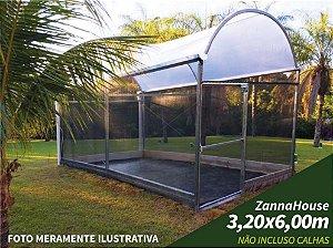 ESTUFA AGRICOLA - ZANNAHOUSE 3,20 X 6,00M