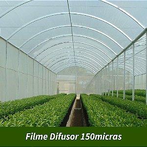 Filme Agrícola Difusor Nacional 150 Micras