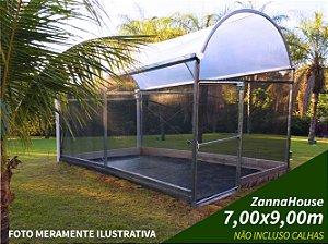 ESTUFA AGRICOLA - ZANNALEVE 7,00 X 9,00M