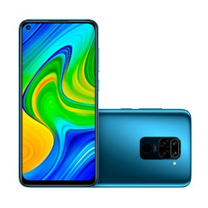Smartphone Redmi Note 9, 48MP, Dual Chip, 4G, Versão Global, Desbloqueado