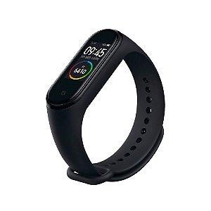Smartwatch Mi Smart Band 4, Tela Colorida OLED, Batimentos Cardíacos, Resistência a água