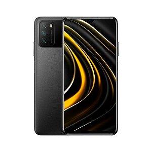 Smartphone Xiaomi Poco M3, 64GB, Versão Global, Desbloqueado