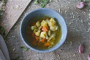 Sopa Detox de legumes (low carb/ glúten free/ lac free/ vegano) - 400g