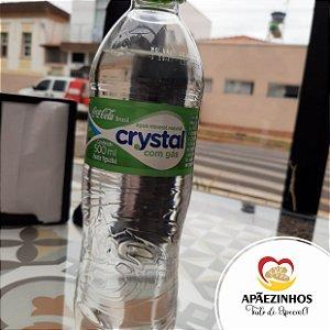 Água Crystal com Gás 510ml (Unidade)