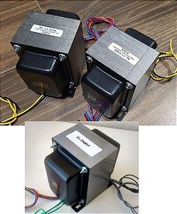 Kit Transformadores HiFi - Baseado no Mullard520 de 1956 - 35+35W - EL34 - Push-Pull