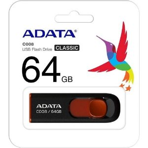 PEN DRIVE 64GB ADATA FLASH USB 2.0 C008 64GB
