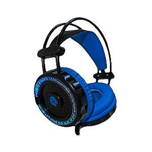 Headset Gamer Hayom Microfone e Led Azul - HF-2201
