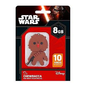 PenDrive Star Wars Chewbacca 8GB Multilaser