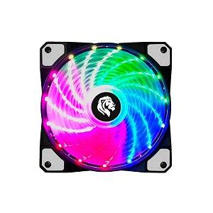 Cooler Hayom Fan 12x12cm Raimbow Estático - FC1302