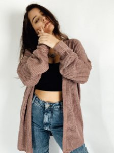 CARDIGAN TRICOT MOUSSE MAIA