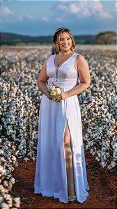 Vestido de Noiva Plus Size Civil