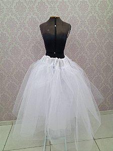 Saiote para Vestido de Noiva Evasê