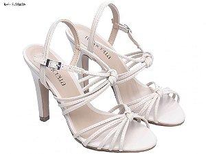 Sandalia Branca Noiva