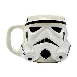 Caneca formato 3d stormtrooper star wars