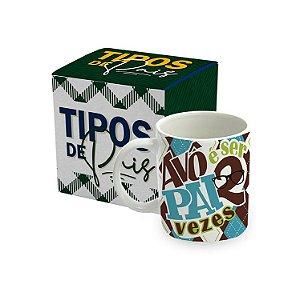 CANECA BICOLOR - TIPOS DE PAIS - AVÔ