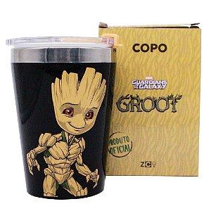 Copo viagem snap Groot Oficial