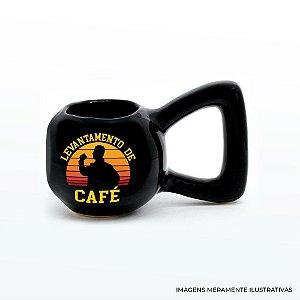 CANECA PESO LEVANTAMENTO DE CAFÉ