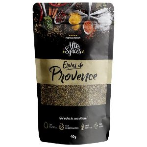 Ervas de Provence 40g Stand Up Pouch com Ziper
