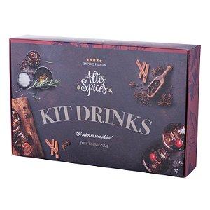 Kit Drink 200g com 06 Especiarias