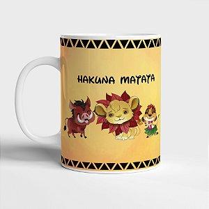 Caneca Rei Leão Hakuna Matata