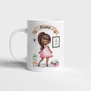 Caneca Menininha + Café