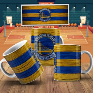 Caneca Golden State Warriors