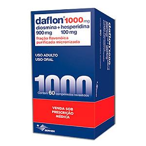 Daflon 1000mg Com 60 Comprimidos