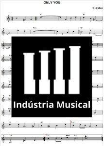 Partitura   Only You - The Platters