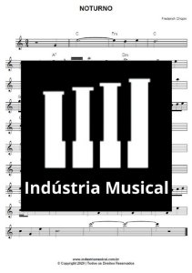 Partitura Simplificada   Noturno - Chopin