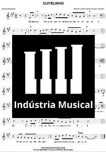 Partitura   Cuitelinho - Antônio Carlos Xandó e Paulo Vanzolini (Pena Branca e Xavantinho)