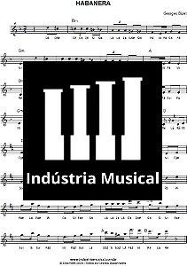 Partitura   Habanera (Ópera Carmen) - Georges Bizet