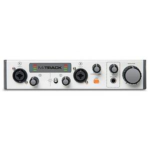 Interface para Gravação de 2 Canais M-Track II