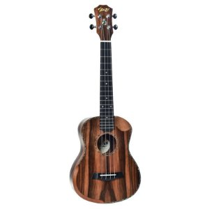 Ukulele Seizi Bora-Bora Crush – Tenor Acústico Bag Ebony