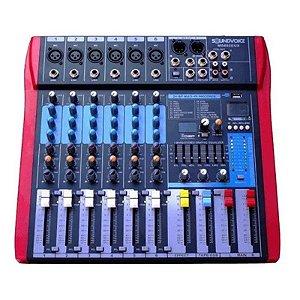 Mesa De Som Soundvoice MS802EUX