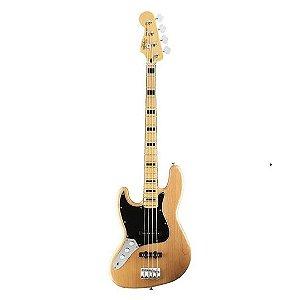 Contrabaixo Fender Squier Canhoto ICS1 J Bass - Natural