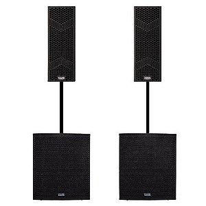 Set de Caixas Acusticas Mark Audio Para PA