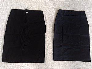 Saias de bengaline jeans