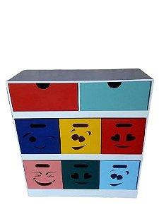 Organizador De Brinquedos 8 Gavetas